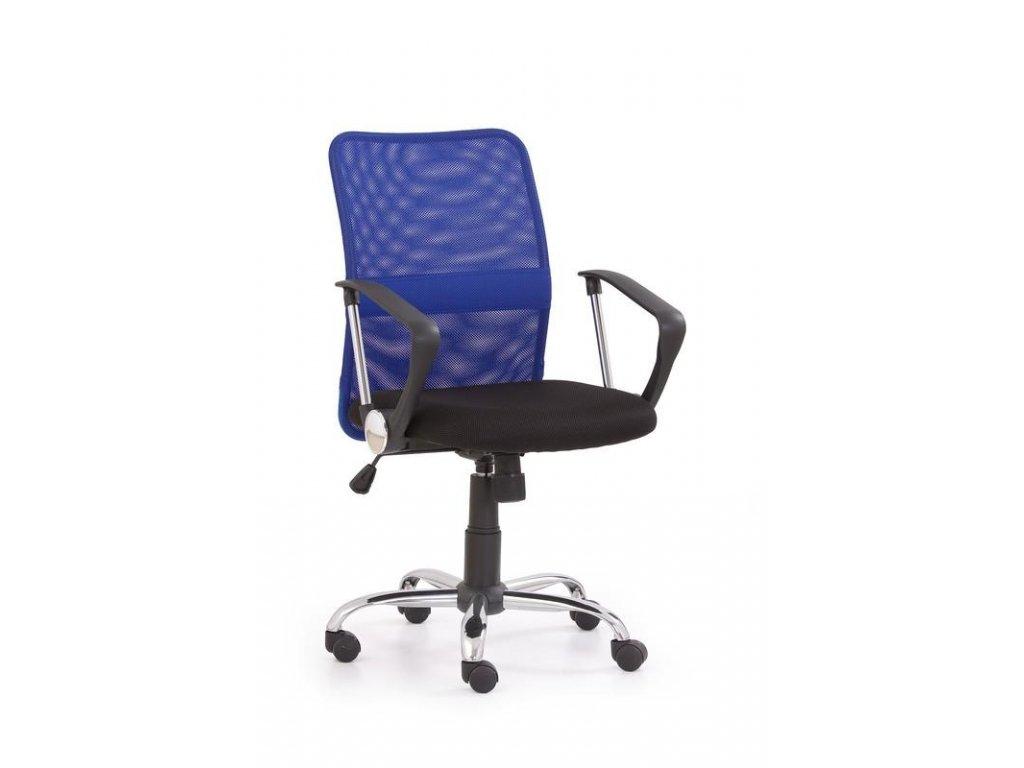 TONY kreslo kancelárske modré