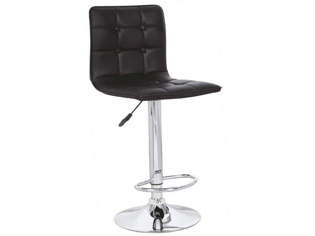 H29 barová stolička čierna