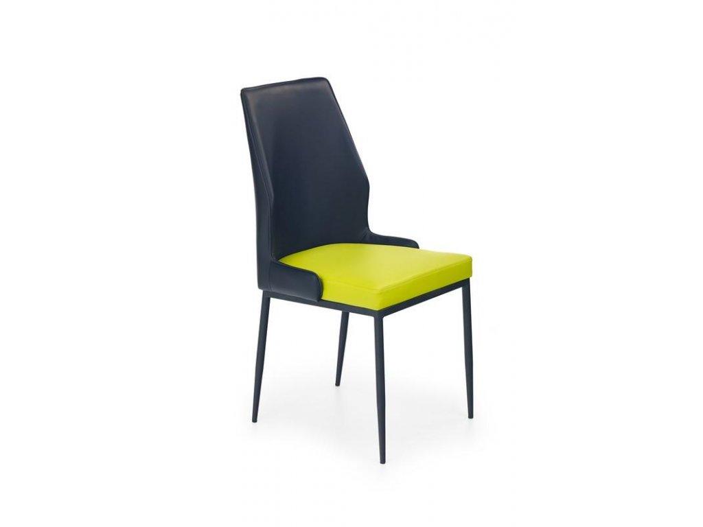 K199 stoličky vápenno - čierna