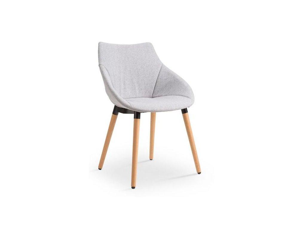 K226 stoličky svetlo šedá