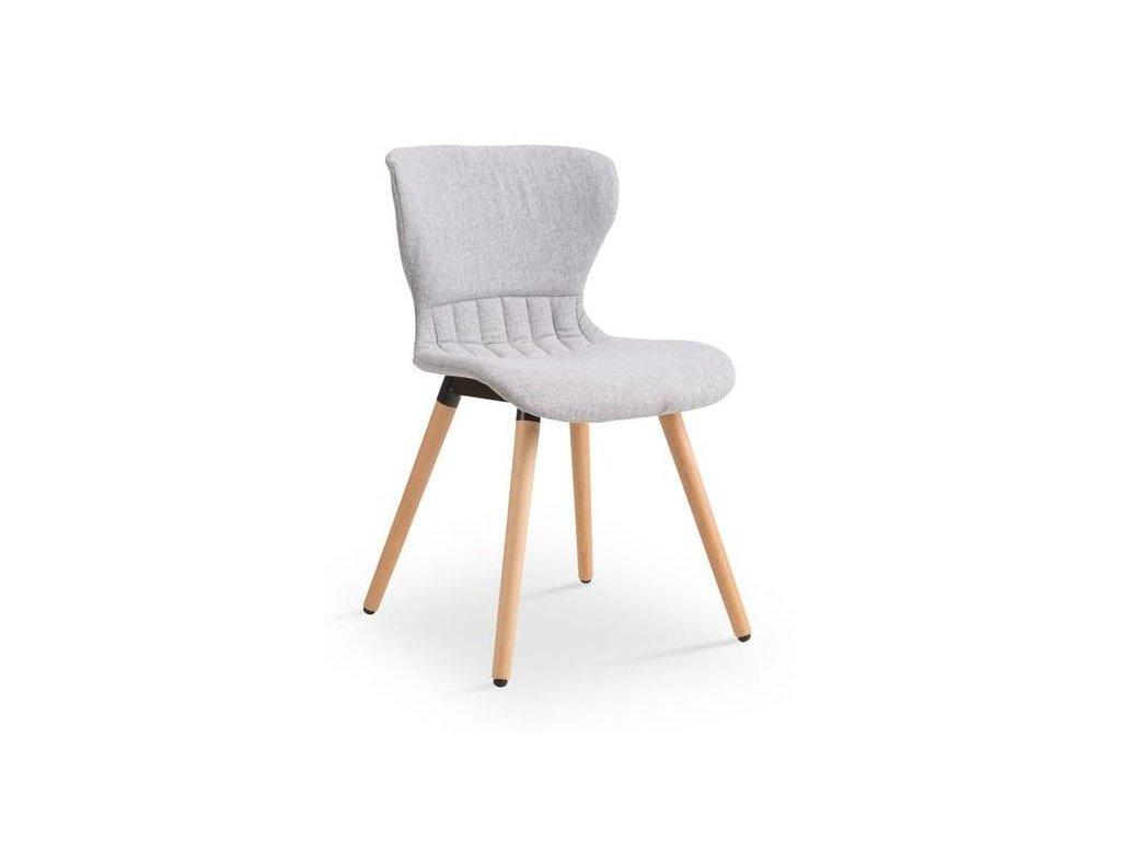K227 stoličky svetlo šedá