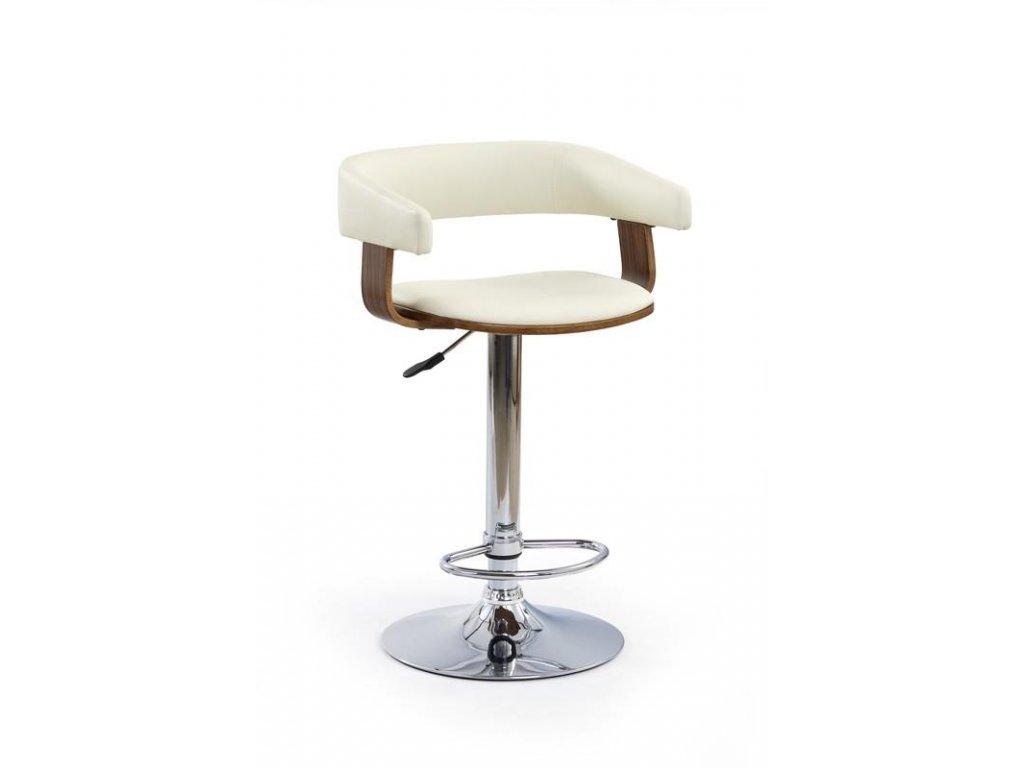 H12 barová stolička orech