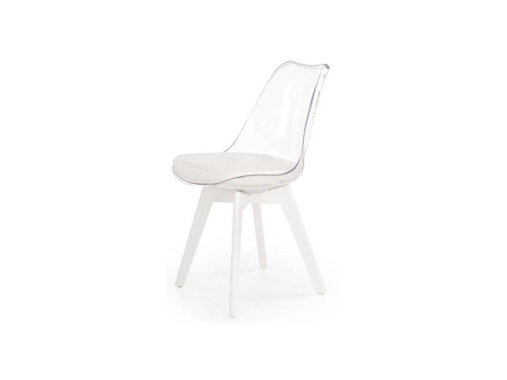 K245 stoličky číra / biela