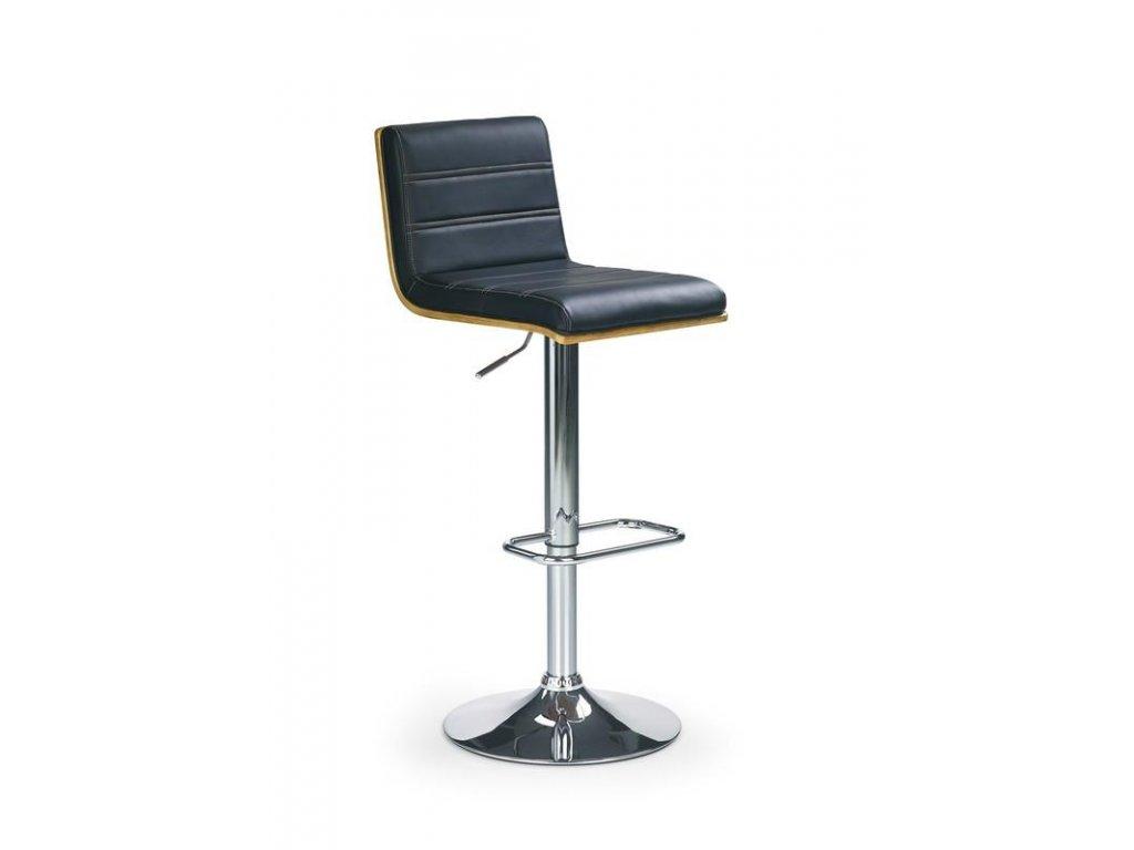 H31 barová stolička čierna