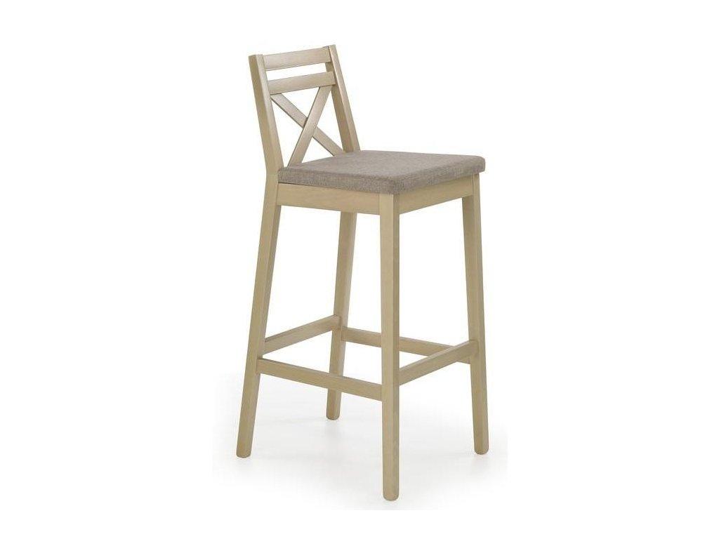 BORYS stoličky barové vysokej dub Sonoma / Polstrovanie: Inari 23