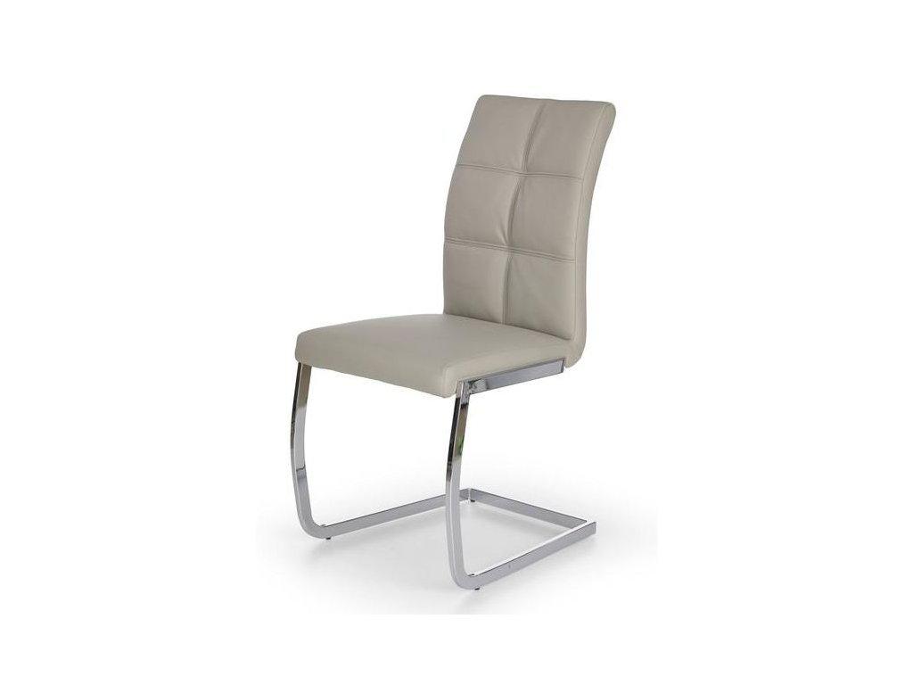 K228 stoličky svetlo šedá