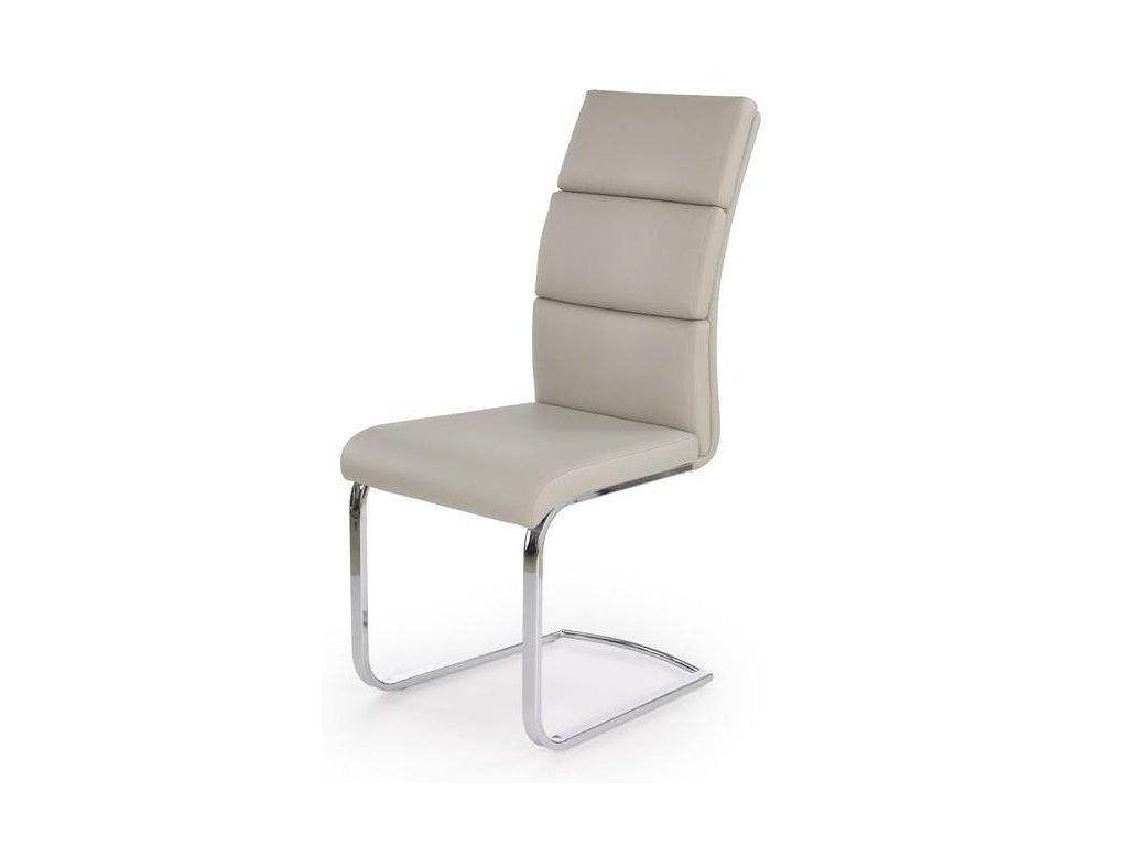 K230 stoličky svetlo šedá
