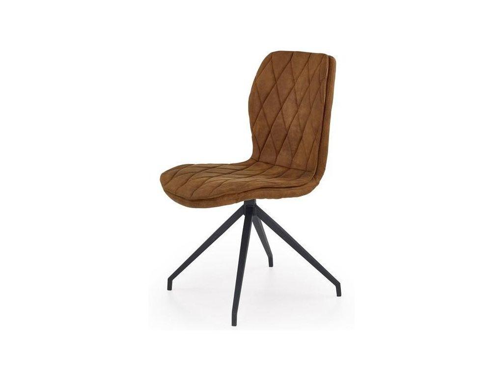 K237 stoličky hnedá