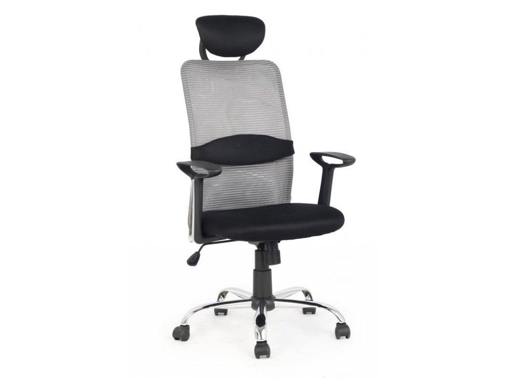 DANCAN kreslo kancelárske čierno - šedé