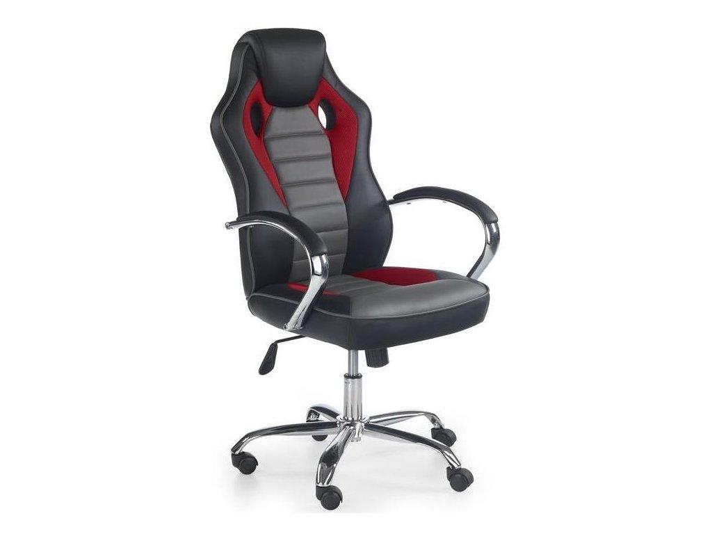 SCROLL kreslo kancelárske čierne / červené / sivé