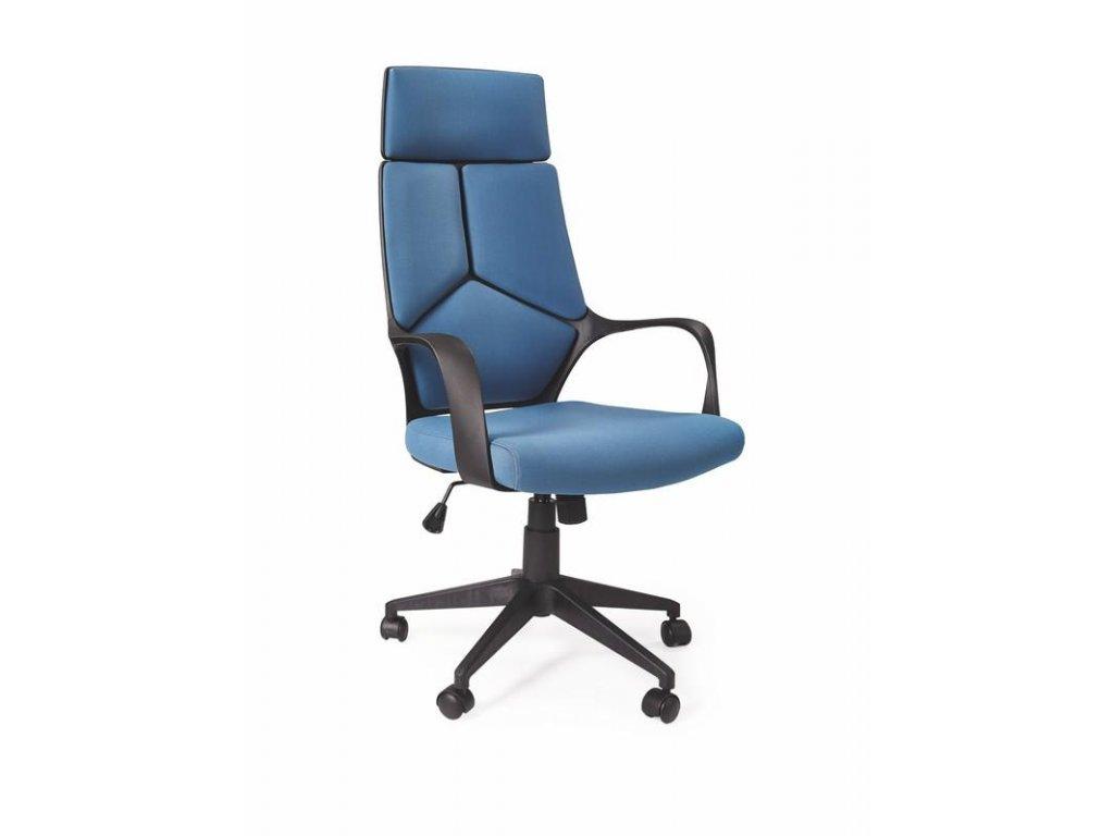 VOYAGER kreslo kancelárske čierno / modré