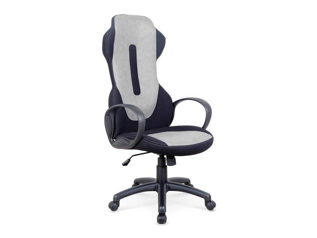 RINGO kreslo kancelárske svetlý béžová-čierne