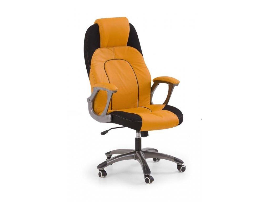 VIPER kreslo kancelárske oranžovo-čierne