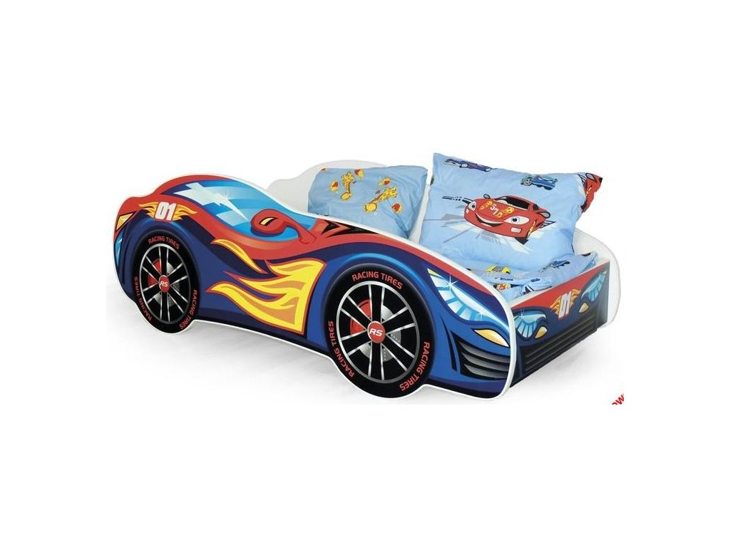 SPEED posteľ viacfarebná