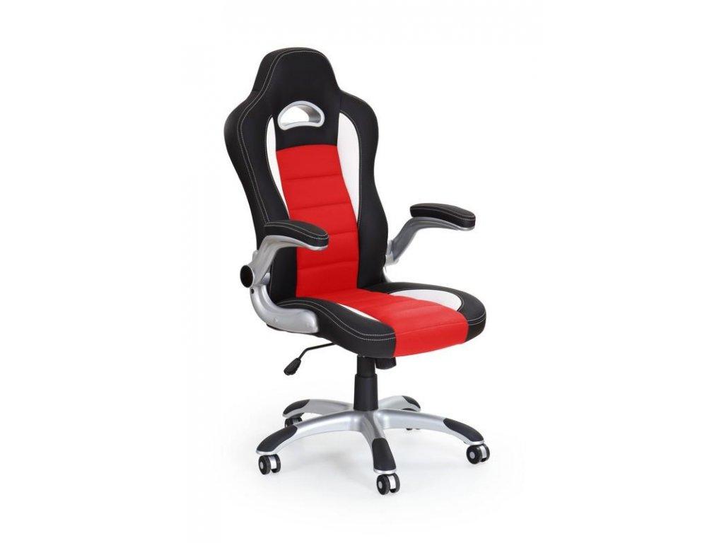 LOTUS kreslo kancelárske čierno - červené