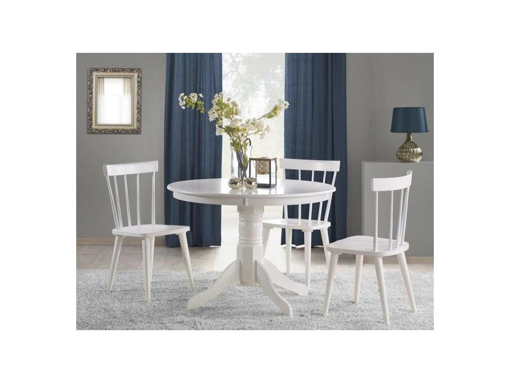 GLOSTER stôl biely
