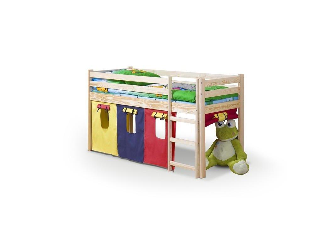 NEO - posteľ poschodová s matracom - sosna