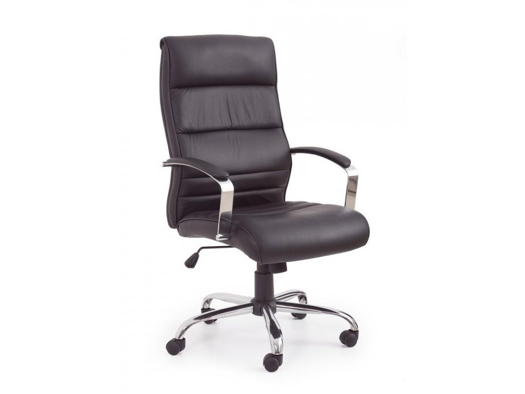 TEXAS kreslo kancelárske čierne - koža