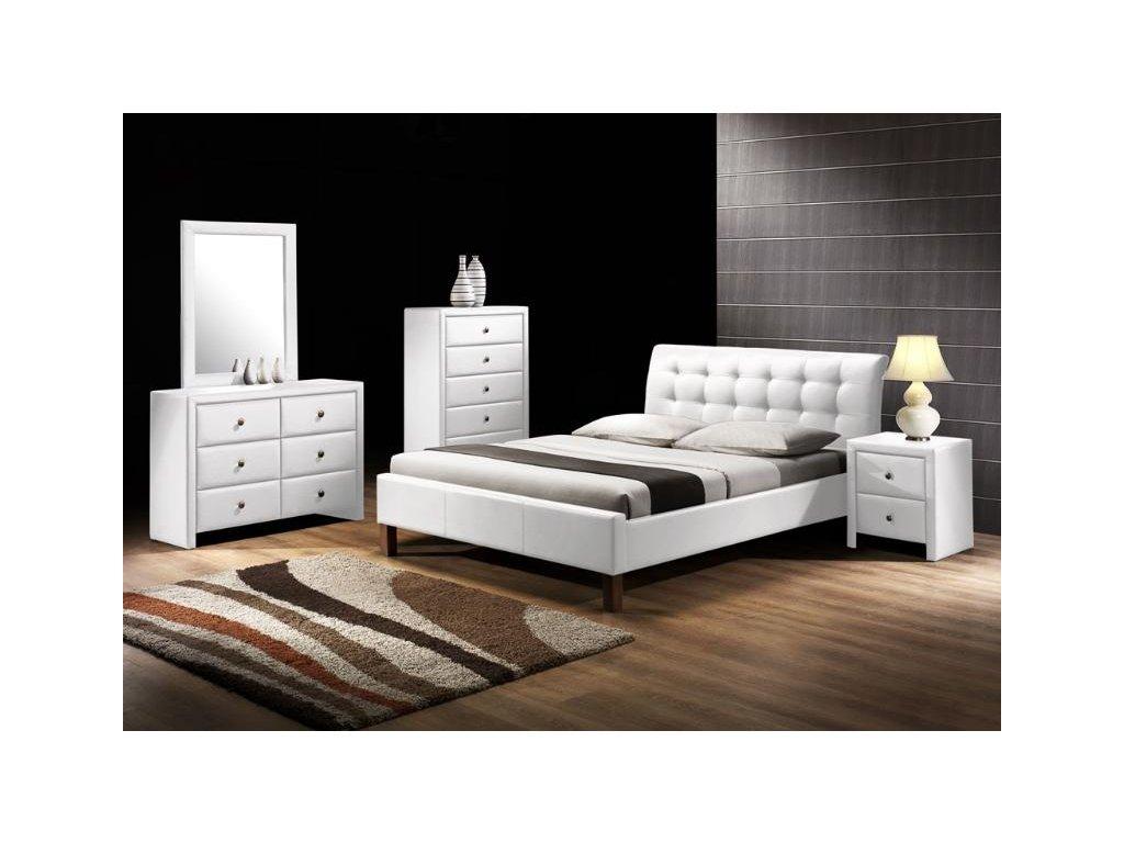 SAMARA posteľ biela