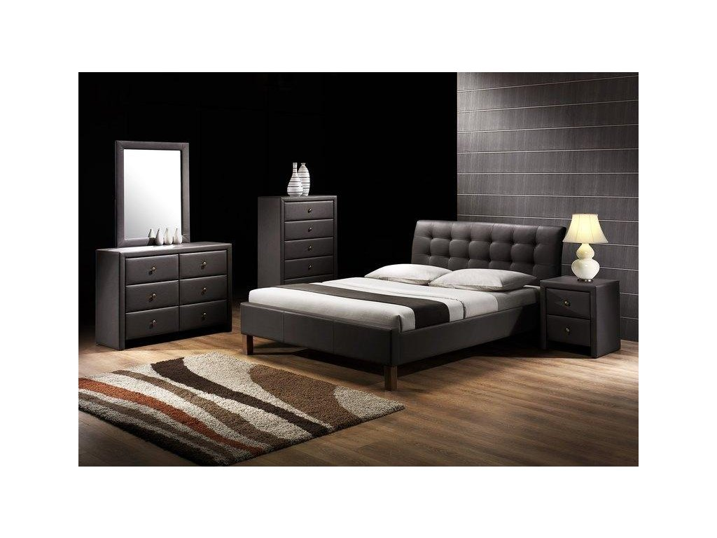 SAMARA posteľ čierna