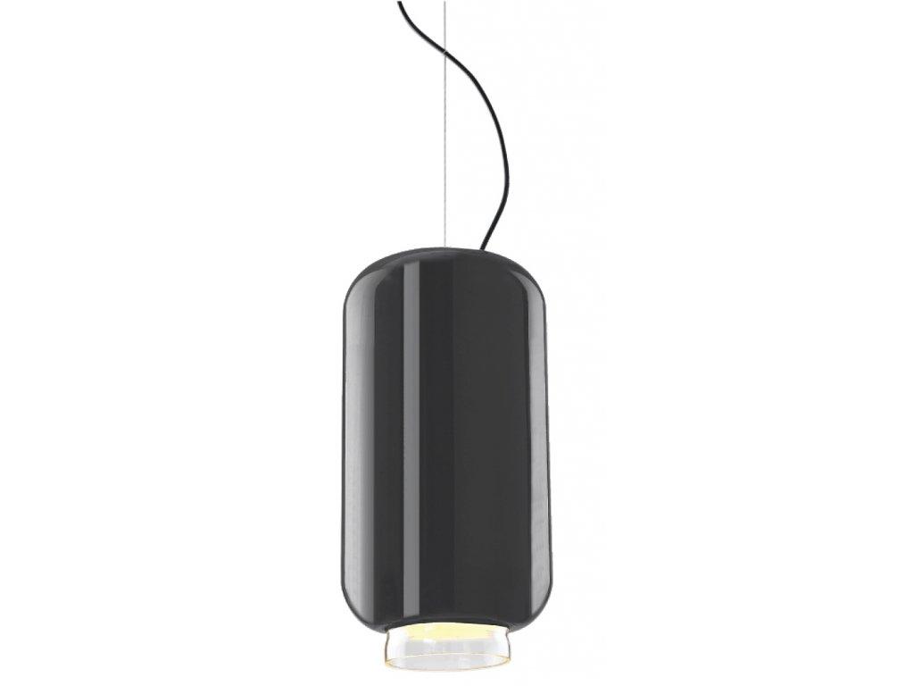 Luster - LAMPA lampión 220 GREY GREY / SKLO / 22 CM