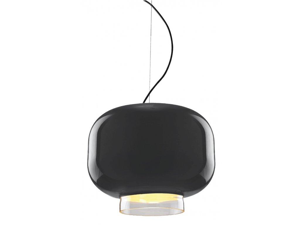 Luster - LAMPA Lampión 400 GREY GREY / SKLO / 40 CM