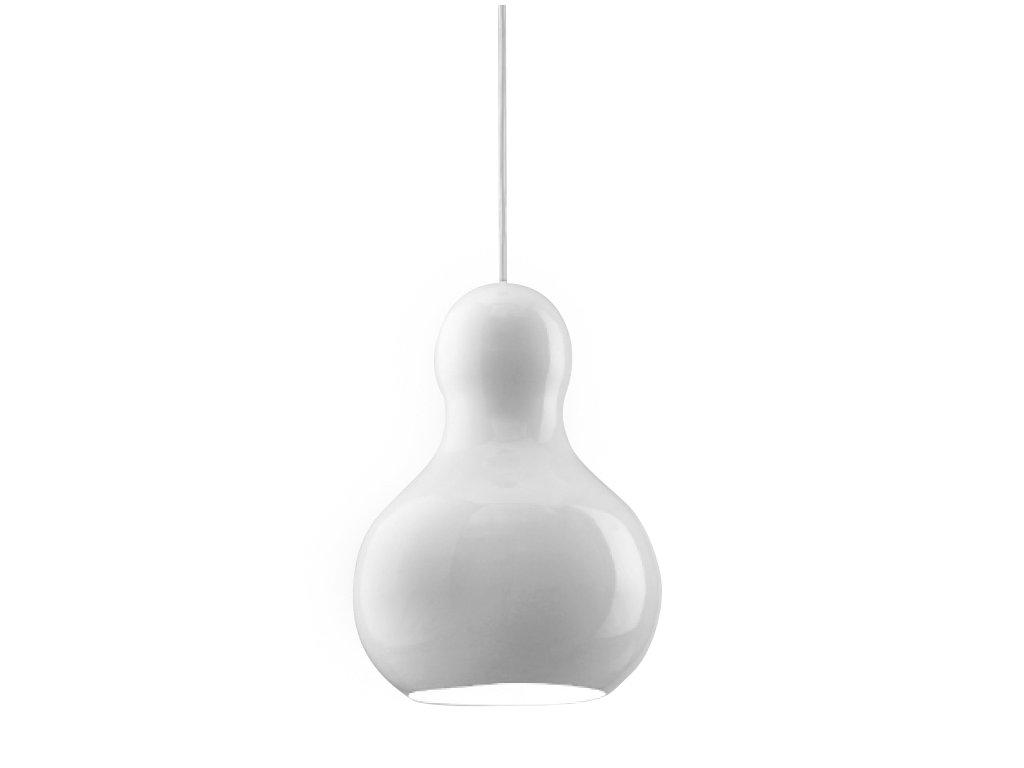Luster - LAMPA Zucci 160 BIELA KOV