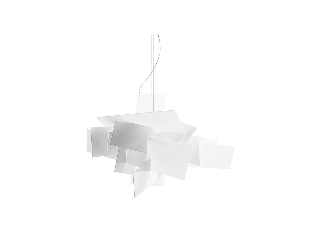 Luster - Lampa závesná BANG BANG 91 - akryl, hliník, oceľ