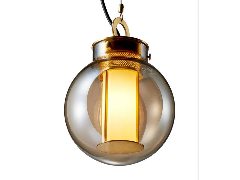 Luster - Lampa závesná CUFFIE - meď, sklo
