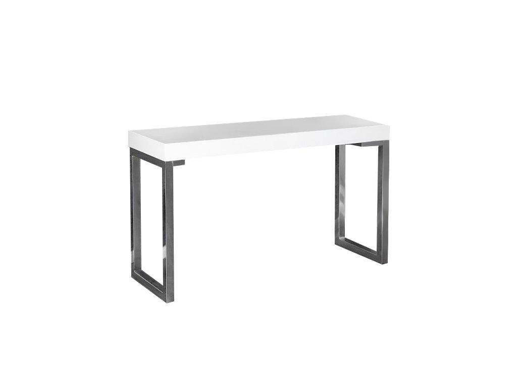 Písací stôl Věrka biely