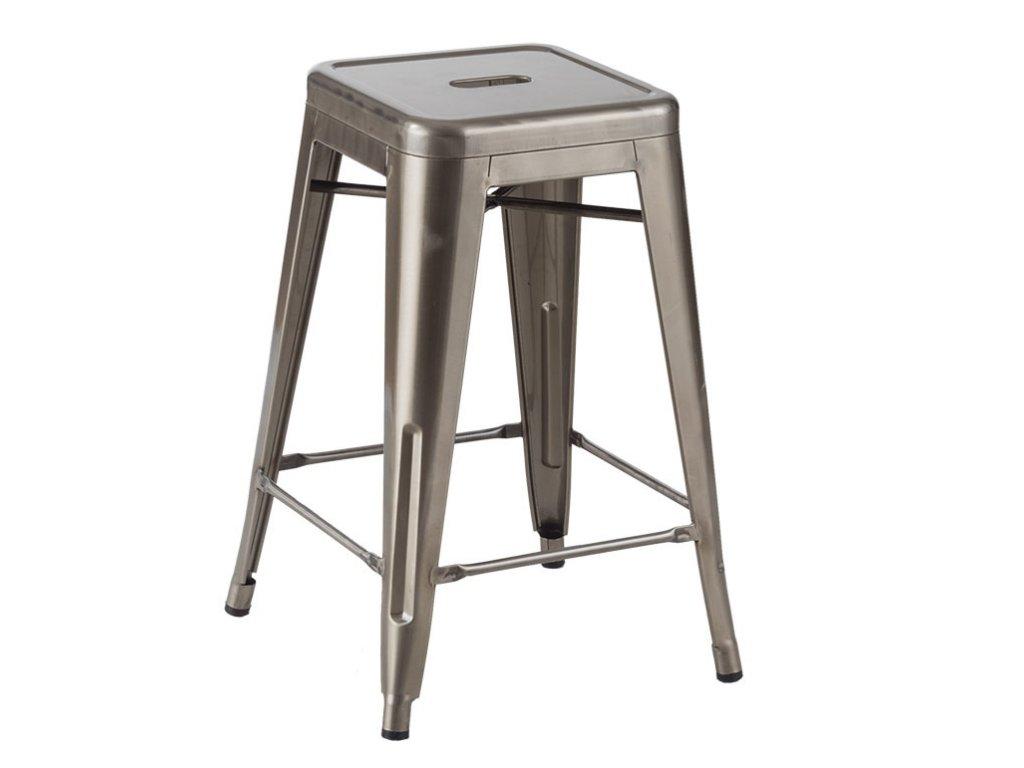 Barová stolička TOWER 66 kov