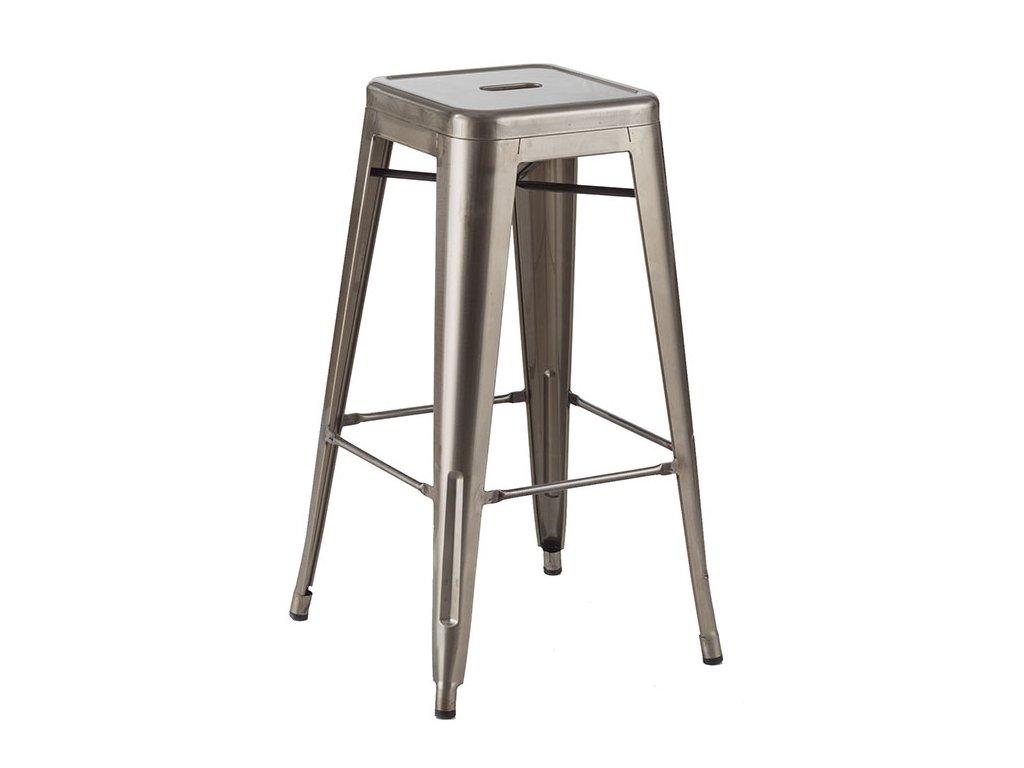 Barová stolička TOWER 76cm kov