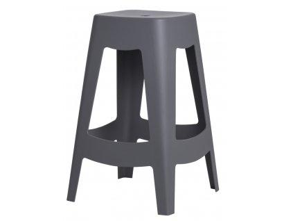 Barová stolička Tower šedá