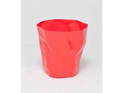 """Kôš na odpadky """"Papier"""" červený"""