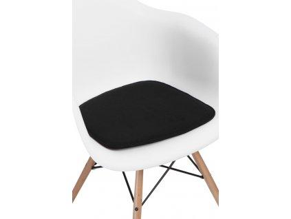 Vankúš na stoličky Arm Chair čierny