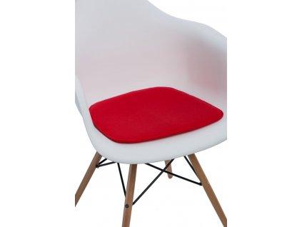 Vankúš na stoličky Arm Chair červený