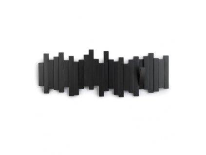 Vešiak Sticks Multi čierny