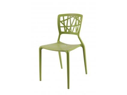 Stoličky Bush zelená