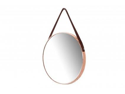 Závesné zrkadlo PORTRET medené