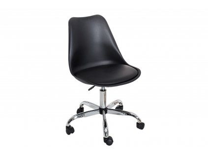Kancelárska stolička SCANDINAVIA čierna