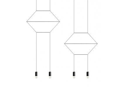 Závesná lampa Fluß LINE 4