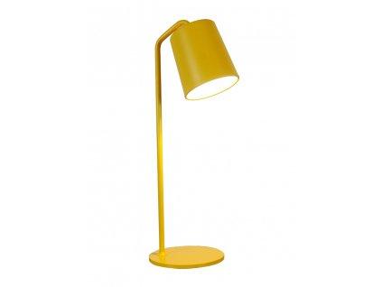 Kancelárska lampa FLAMING TABLE žltá