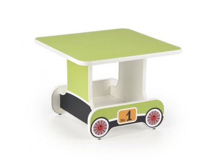 Lokomo stolík zelený