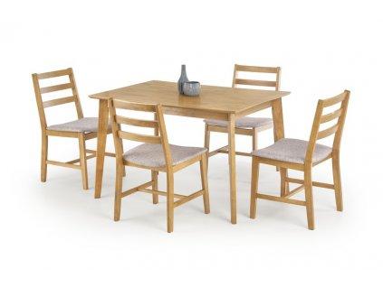CORDOBA stôl + 4 stoličky