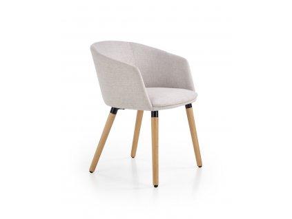 K266 stoličky svetlo šedá