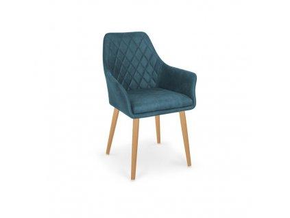 K287 stoličky tmavo modrá