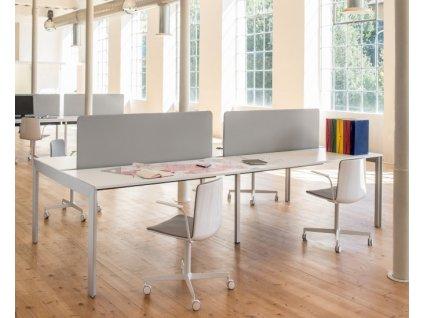 Čalouněná otočná židle Noa 728 v barvě G63