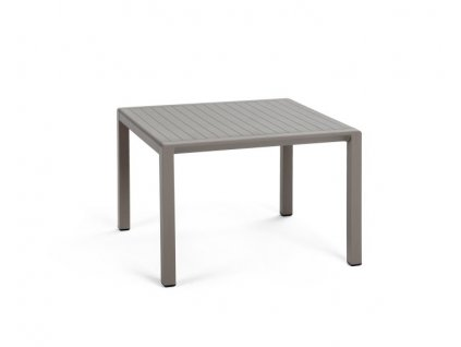 Tmavošedý stoleček hranatý Aria