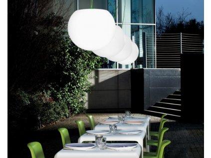 Polyetylén lampa vnější Happy Apple