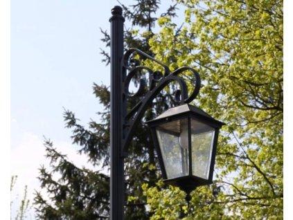Hliníková lucerna zahradní Oslo